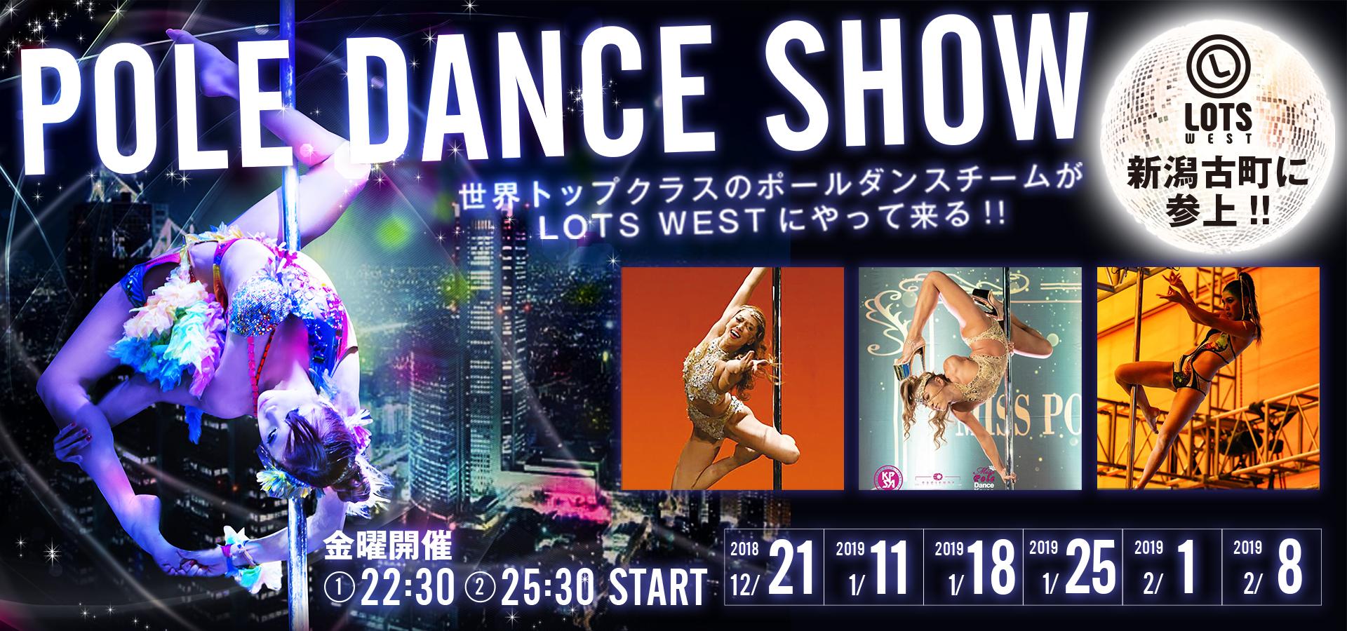 POLE DANCE SHOW~世界トップクラスのダンサーがやってくる!~
